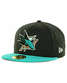 New Era San Jose Sharks Basic 59FIFTY Cap