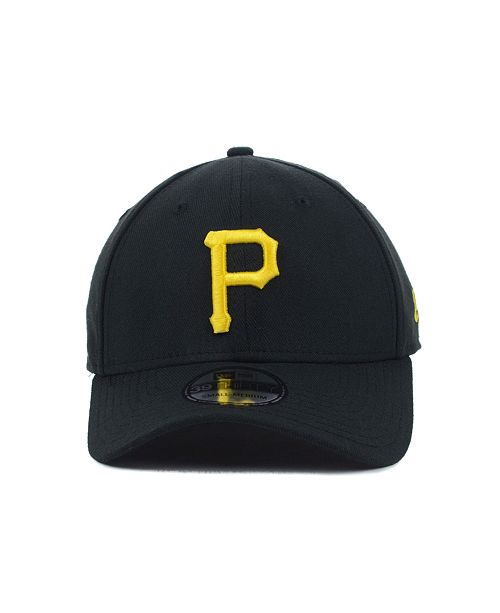 ce618535870 New Era Pittsburgh Pirates MLB Team Classic 39THIRTY Stretch-Fitted Cap -  Sports Fan Shop By Lids - Men - Macy s