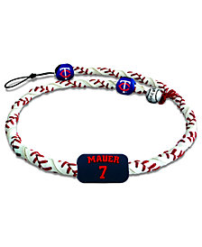 Game Wear Minnesota Twins Joe Mauer Frozen Rope Necklace