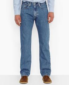 Levi's Men's Big and Tall  505 Original-Fit Medium Stonewash Jeans