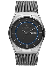 Skagen Men's Melbye Titanium Mesh Bracelet Watch 40mm SKW6078