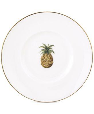 British Colonial Dessert Plate