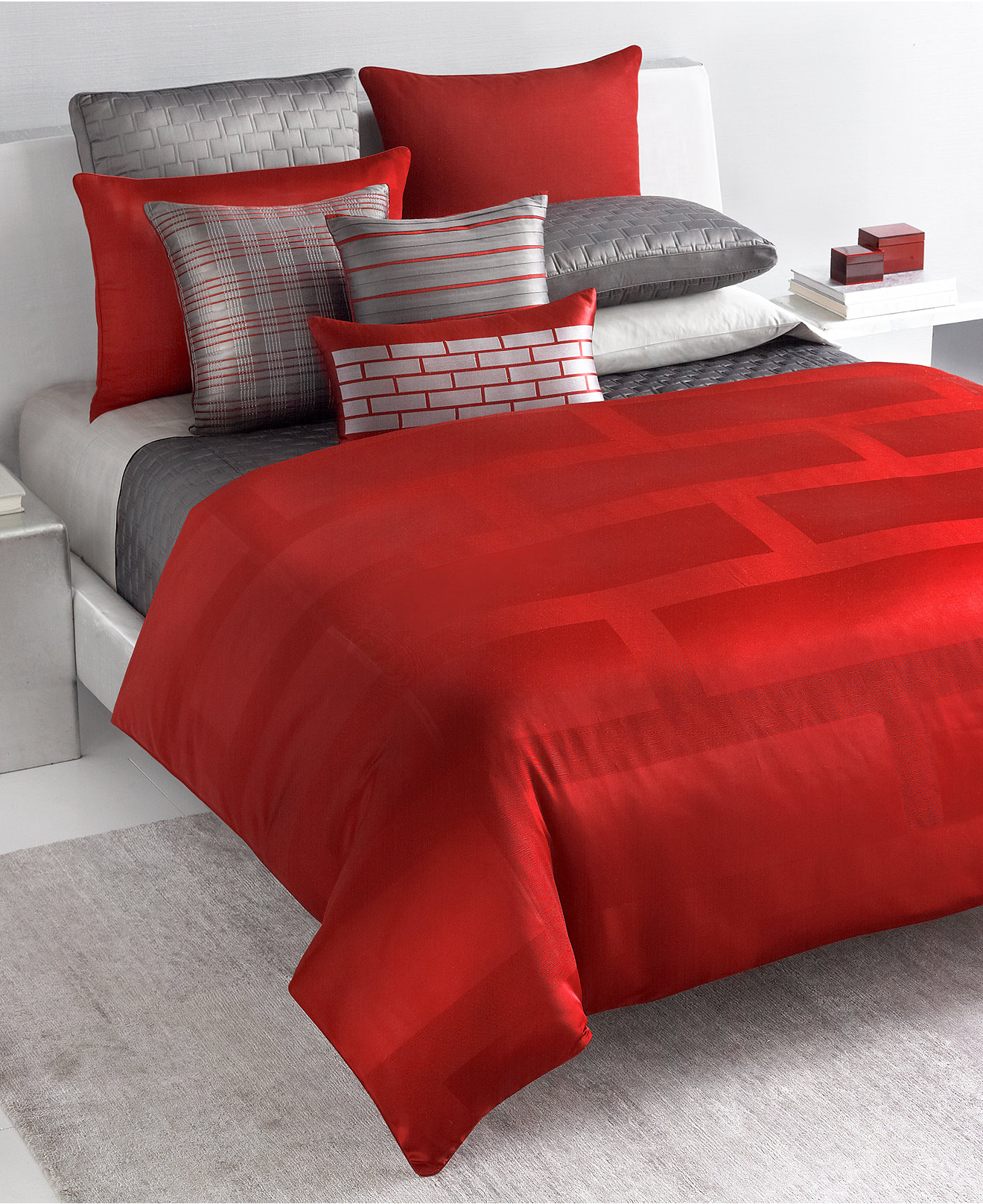 Macy Bedroom Furniture Closeout Closeout Hotel Frame Lacquer Bedding Collection Only At Macys