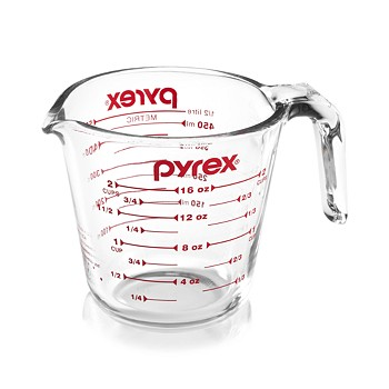 Pyrex Clear 2 Cup Measuring Cup