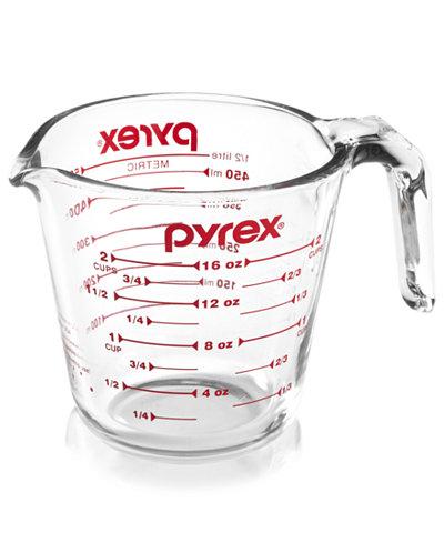 pyrex 2 cup measuring cup bakeware kitchen macy 39 s. Black Bedroom Furniture Sets. Home Design Ideas
