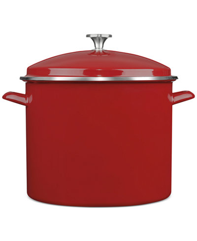 Cuisinart Chef's Classic Enamel on Steel 16 Qt. Covered Stockpot