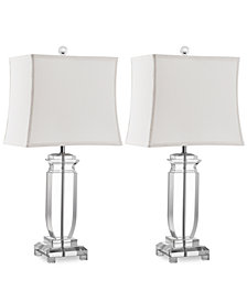 Safavieh Set of 2 Olympia Crystal Table Lamps