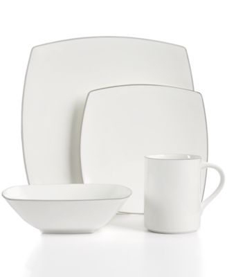 Couture Platinum 4-Piece Place Setting