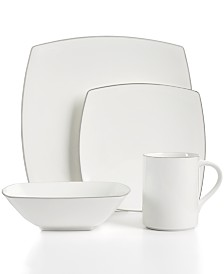 Mikasa Couture Platinum Dinnerware Collection