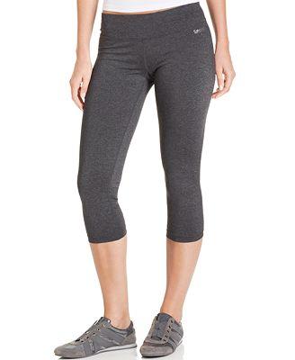 Calvin Klein Performance Active Capri Leggings - Pants - Women ...