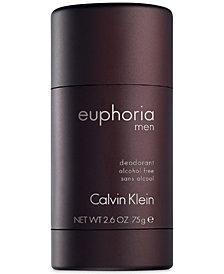 Calvin Klein euphoria Men Deodorant Stick, 2.6 oz