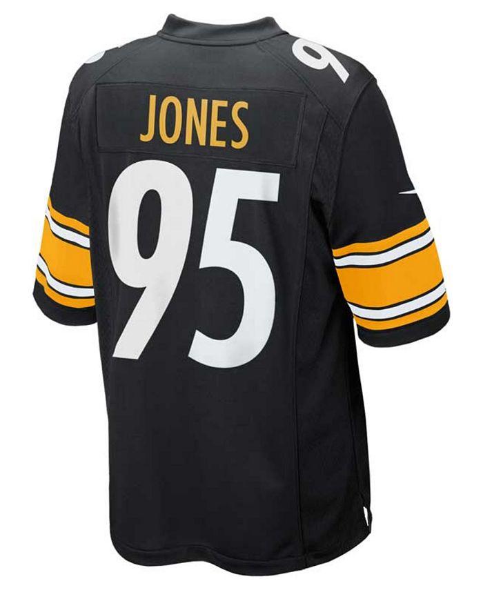 Nike Men's Jarvis Jones Pittsburgh Steelers Game Jersey & Reviews ...