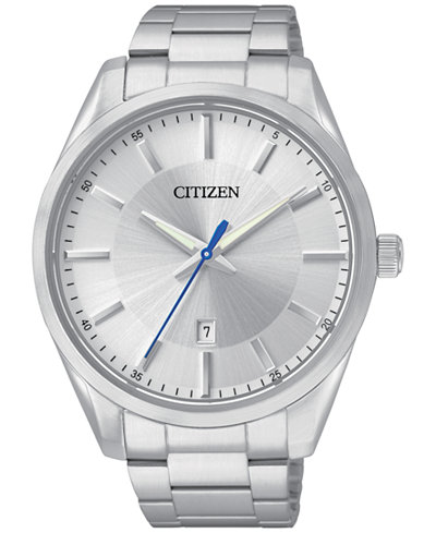 Citizen Men's Stainless Steel Bracelet Watch 42mm BI1030-53A