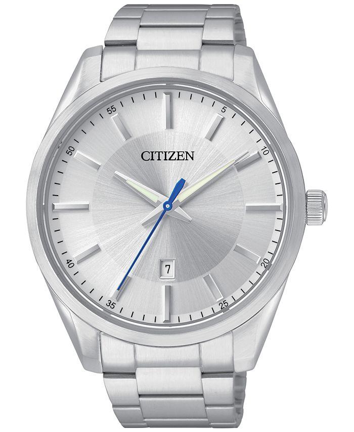 Citizen - Men's Stainless Steel Bracelet Watch 42mm BI1030-53A