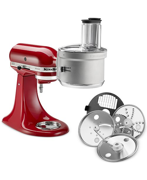 KitchenAid KSM2FPA Stand Mixer ExactSlice Food Processor Attachment on haier products, ikea products, kitchen care products, kohler products, braun products, kitchen invention products, hampton bay products, ge products, sleep aid products, general electric products,