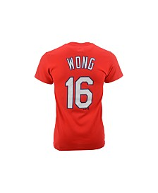 Majestic Men's Short-Sleeve Kolten Wong St. Louis Cardinals T-Shirt