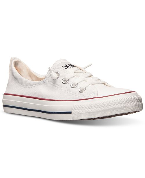 wholesale dealer 5f1d2 4668b ... Converse Women s Chuck Taylor Shoreline Casual Sneakers from Finish ...