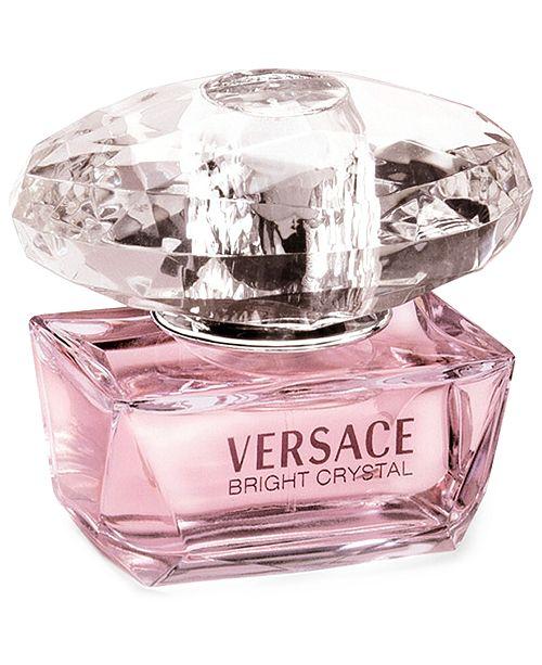 Versace Bright Crystal Eau de Toilette, 1.7 oz - All Perfume ...
