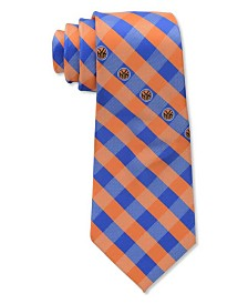 Eagles Wings New York Knicks Checked Tie