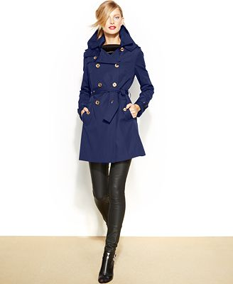 MICHAEL Michael Kors Removable-Liner Trench Coat - Coats - Women