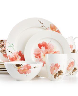Oneida Amore 16-Pc. Set Service for 4  sc 1 st  Macy\u0027s & Oneida Dinnerware - Macy\u0027s