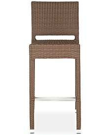 Gitano Indoor/Outdoor Wicker Bar Stool