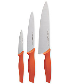 Rachael Ray Stainless Steel 3-Piece Chef Cutlery Set