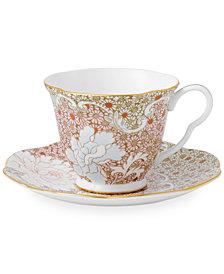 Wedgwood Daisy Tea Story Teacup and Saucer Set Pink