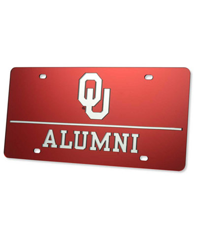 Stockdale Oklahoma Sooners Laser Tag License Plate