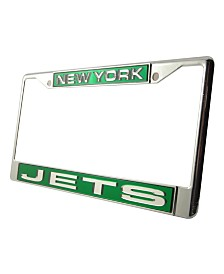 Rico Industries New York Jets License Plate Frame