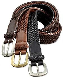 Men's Belt, Core Derby Braided Belt