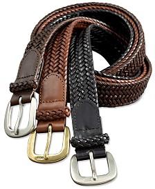 Polo Ralph Lauren Men's Belt, Core Derby Braided Belt
