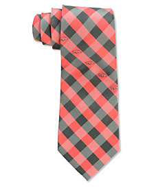 Eagles Wings Arkansas Razorbacks Checked Tie