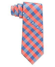 Atlanta Braves Checked Tie