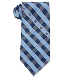 Eagles Wings Tennessee Titans Checked Tie