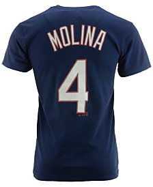 Majestic Men's Short-Sleeve Yadier Molina St. Louis Cardinals Player T-Shirt
