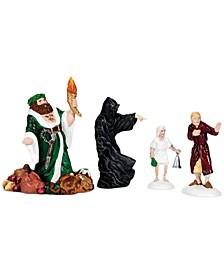 Dicken's Village Christmas Carol Visit Collectible Figurine