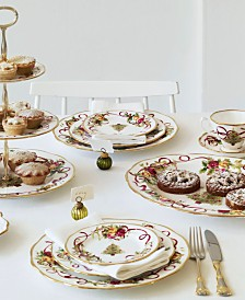 Royal Albert Old Country Roses Holiday Collection