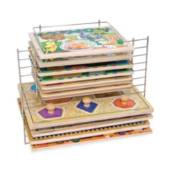 Melissa and Doug Kids' Deluxe Wire Puzzle Rack
