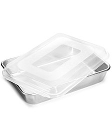 "Nordic Ware 9"" x 13"" Covered Cake Pan"