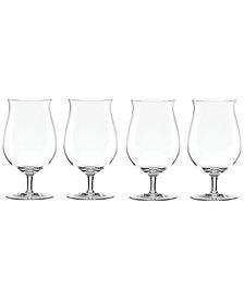 Lenox Tuscany Craft Beer Tulip Glasses, Set of 4