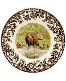 Woodland Maejstic Moose Salad Plate