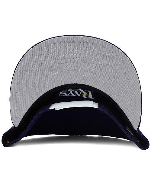 New Era Tampa Bay Rays MLB 2 Tone Link 9FIFTY Snapback Cap