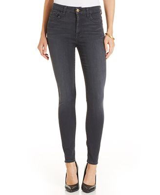 7 For All Mankind High-Waist Skinny Ankle Jeans - Jeans - Women ...