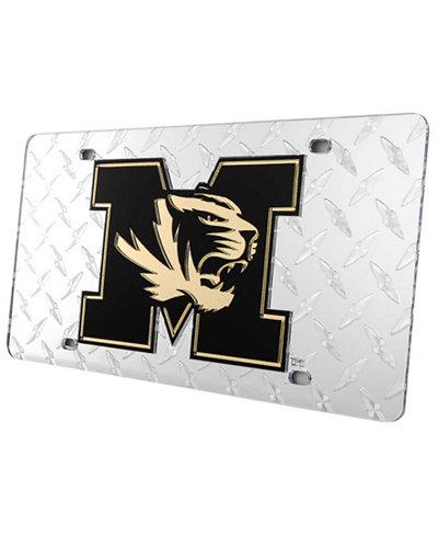 Stockdale Missouri Tigers Diamond-Cut License Plate