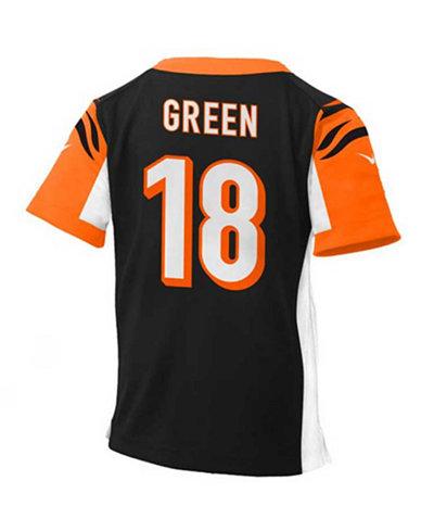 Nike Babies  A.J. Green Cincinnati Bengals Game Jersey - Sports Fan ... 8adff0f615d5