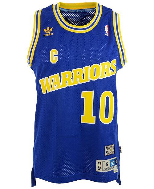 online store ef74b 504c7 adidas Tim Hardaway Golden State Warriors Swingman Jersey ...