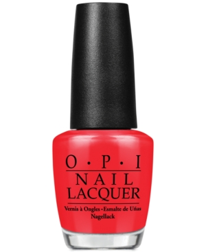 Opi Nail Lacquer, Color So Hot It
