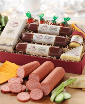Hickory Farms Holiday Celebration Meat & Cheese Gift Set
