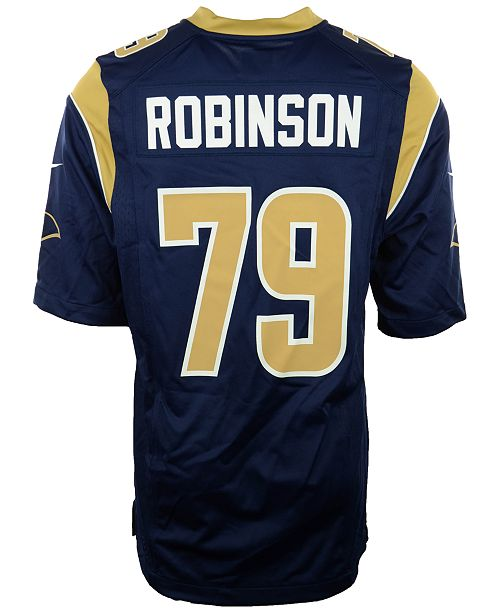 check out d1fde b3d07 Nike Men's Greg Robinson Los Angeles Rams Game Jersey ...